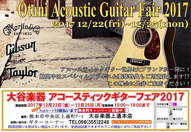 アコースティックギターフェア2017