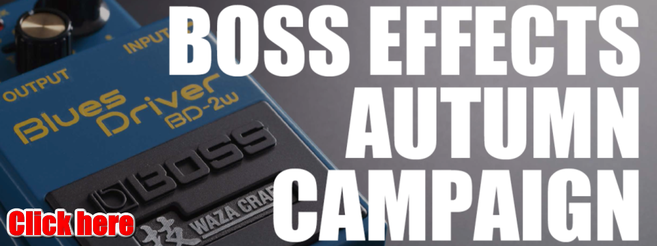BOSS EFFECTS AUTUMN CAMPAIGN 2019